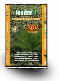 Terriccio Leader palmizi e piante verdi 20 Lt.