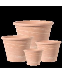 DEROMA Vaso Duo White Striped